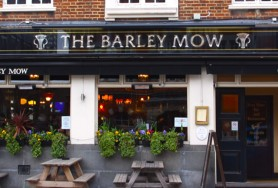 Outside the Barley Mow